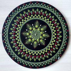 Mandala Art, Mandala Painting, Mandala Design, Mandala Painted Rocks, Dot Art Painting, Mirror Art, Canvas Wall Art, Pattern Design, Dots