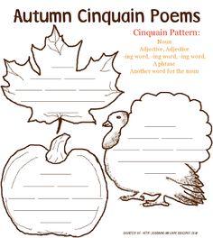 Autumn Cinquain Poems