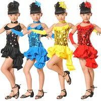 b01cf69e4cb Toddler Kids Girls Latin Ballet Dress Party Dancewear Ballroom Dance  Costumes