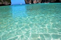 Koh Phi Phi Don, Thailand 35 clearest waters in the world to swim in before you die