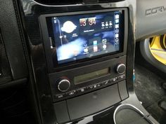 """Android 7"""" tablet install in a C6 - Corvette Forum"""