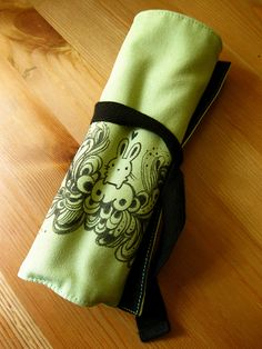 decorated pencil case roll