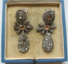 Diamond Earrings | Friarhouse Antiques