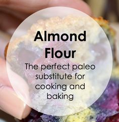 Almond Flour - use instead of enriched wheat flour! Very low glycemic index, very high in protein, and naturally gluten-free Baking With Almond Flour, Almond Flour Recipes, Almond Meal, Paleo Nuts, Paleo Diet, Paleo On The Go, How To Eat Paleo, Pureed Food Recipes, Paleo Recipes