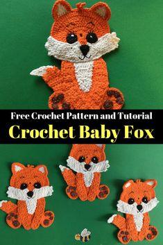 Crochet Amigurumi, Crochet Teddy, Crochet Bunny, Cute Crochet, Crochet Crafts, Crochet Projects, Crochet Flowers, Crochet Applique Patterns Free, Crochet Motifs