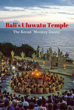Bali's Uluwatu Temple Kecak Dance - the famous monkey dance at a clifftop temple overlooking the Indian Ocean in a far corner of Indonesia's most popular island for tourists. Religion, culture, fire, suspense and storytelling; the Uluwatu kecak dance has it all.