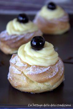 La bottega delle dolci tradizioni: Le zeppole perfette