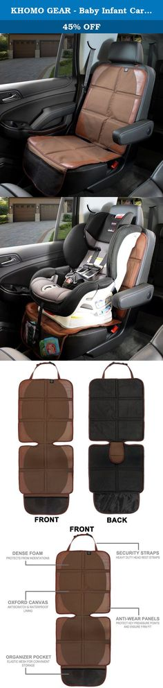 Car seat back protector cover kids kick clean mat protects storage bagYNFK
