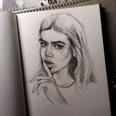 Imagem de art, girl, and drawing