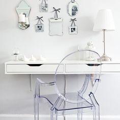 Bedroom dressing table | Victorian flat in Edinburgh | House Tour | PHOTO GALLERY | Style at Home | Housetohome.co.uk