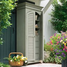 Love this outdoor cabinet!