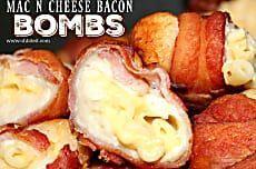 ~Mac n Cheese Bacon Bombs!