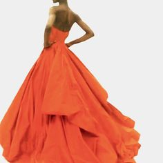 Herieth Paul at the fitting for Zac Posen  f/w/2014 ZsaZsa Bellagio – Like No Other: weekend