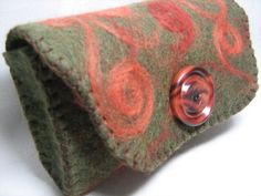 Felted Eyeglass Case by AtticWit