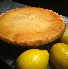 MONTGOMERY PIE - The rarely published recipe for this Alabama pie is as good as it gets, if you like lemon. There are two textures in the pie and it's one of those recipes that money can't buy. Montgomery Pie on page 6 of Lemon Desserts, Köstliche Desserts, Lemon Recipes, Sweet Recipes, Dessert Recipes, Pie Recipes, Summer Desserts, Plated Desserts, Dinner Recipes