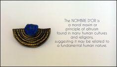 Polymer clay semicyrcle earrings.