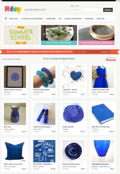 My third Folksy front page in a row... Hurray!