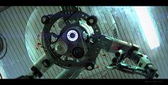 surgical robot, mech, tech, robotics, sketchup, keyshot, render, 3D, concept art, film, movie