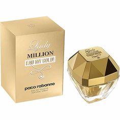 Americanas Perfume Lady Million Eau My Gold! Paco Rabanne Feminino Eau de Toilette 30ml Por R$ 107,10