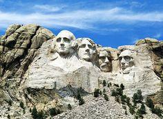 Como e por que foram esculpidas as faces dos presidentes americanos no monte Rushmore?