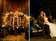 check out the barn wedding!