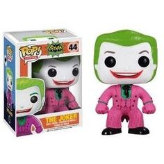 From the hit wacky 1966 Batman TV Series! This Batman 1966 TV Series The Joker Pop! Vinyl Figure features one of Batman's most maniacal nemeses, The Joker (as played by Cesar Romero), rendered in the adorable Pop! Joker Batman, Joker Pop, Funko Pop Batman, Batman 1966, I Am Batman, Joker Heath, Batman Stuff, Pop Vinyl Figures, Surfs Up