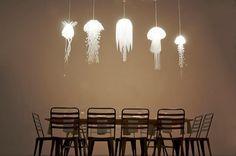 Quallen-Lampen/jellyfish lamps