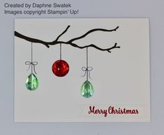 I'm sharing a few projects created by some of my very talented Stampin' Up! team members with you all today.