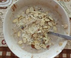 Oatmeal is considered a comfort food. Here is a recipe for My Favorite Protein Oatmeal With Coconut And Almonds that will satisfy and stick to your ribs!