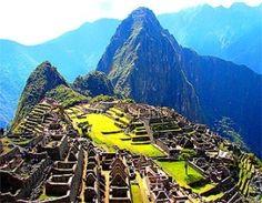 Manchu Pichu - on my bucket list :)