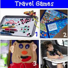 Links to sites with a lot of ideas for traveling with children.
