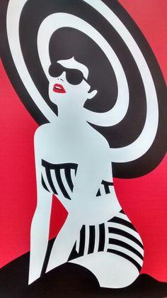 Graphic Vicenza Summer #pinup #malikafavre