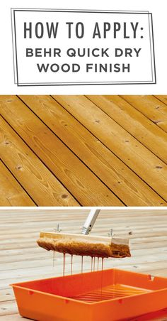 Looking for a weekend home improvement project? Refinish your outdoor deck with Behr PremiumⓇ Transparent Quick Dry Oil Base Wood Finish. This easy video tutorial, from The Family Handyman, shows you how. Click below to learn more about this backyard DIY project.