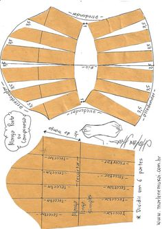 Transformação de mangas - Mend Tutorial and Ideas Sewing Dress, Sewing Sleeves, Dress Sewing Patterns, Clothing Patterns, Pattern Drafting Tutorials, Sewing Tutorials, Sewing Tips, Cut Clothes, Sewing Clothes
