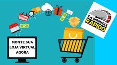 Sua Loja Virtual  Curso E Commerce Rápido Ganhe Dinheiro pela Internet