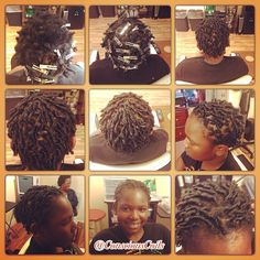 Style: Loc Retight/Starter Locs (Comb Coils) Client's Hair Type: 4a/b Hair Added: NA Products Used: Coiled! by Conscious Coils (Original Refresher Spray and Loc & Styling Gel)  Time: 1hr 17mins Style Duration: Starter Loc Retight every 2-3weeks  #consciouscoils #consciouscoilssalon