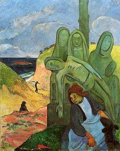 Gaugin - The Green Christ at Calvary, 1889
