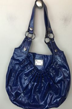 a91f6d4e2fd2 Relic Handbag Purse Patent Blue Women s Bag