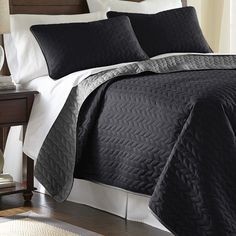 Found it at Joss & Main - 3-Piece Aalia Reversible Coverlet Set