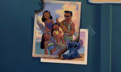 'Ohana from Lilo & Stitch Walt Disney Animation, Disney Pixar, Disney And Dreamworks, Disney Art, Disney Characters, Disney Films, Disney And More, Disney Love, Disney Magic