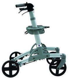 Mobility Aids Folding Rollator Walker Indoor And Outdoor Walkers For Seniors And Disabled