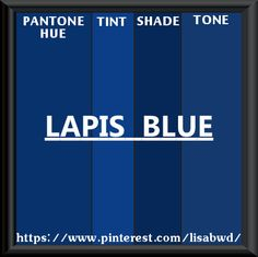Pantone Seasonal Color Swatch Lapis Blue Aquamarine Shire Shades