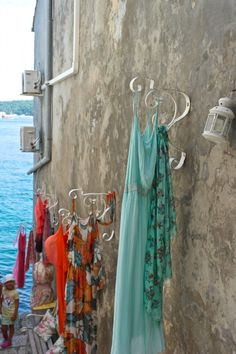 Many little shops to buy clothes and art- Rovinj,Croatia