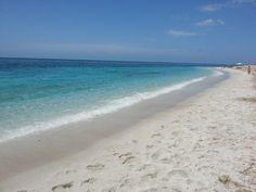 Sardegna-La spiaggia di Maimoni, nel Sinis - Cabras