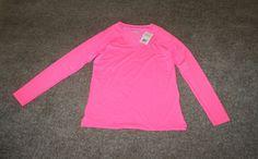 Under Armour Womens Fitted Rebel Pink HeatGear Armour Long Sleeve Shirt Medium…