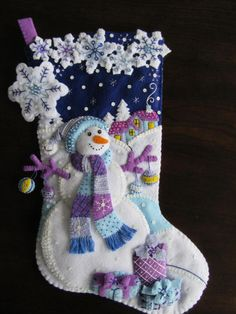 Bucilla Frosty Nights 18 Completed