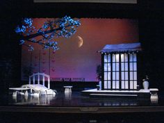 Madama Butterfly. Design by R.A. Enlow.