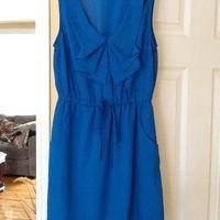 Bebop blue dress with side pockets size M - $12.00