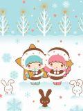 Gifs Navidad 2014 Little twin stars.