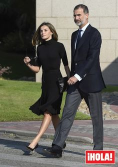 King Felipe and Queen Letizia attended the funeral of the head of the security service of the royal house in Madrid